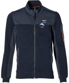Lerros vest - modern fit - blauw