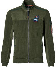 Lerros vest - modern fit - groen