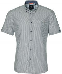 Lerrros overhemd - modern fit - blauw