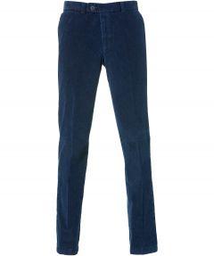 sale - Jac Hensen ribbroek - modern fit - blauw