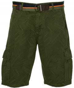 Lerros short - modern fit - groen