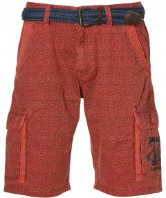 Lerros short - regular fit - rood