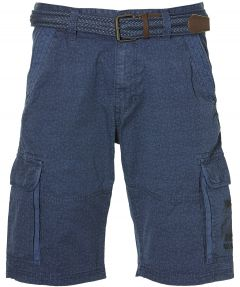 Lerros short - regular fit - blauw