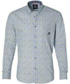 Lerros overhemd - modern fit - blauw