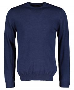 Matinique pullover - slim fit - blauw