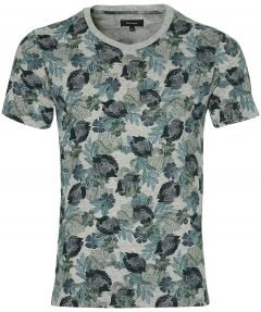 Matinique t-shirt - slim fit - blauw