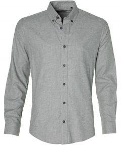 Matinique overhemd - slim fit - grijs