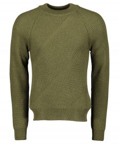 Matinique pullover - slim fit - groen