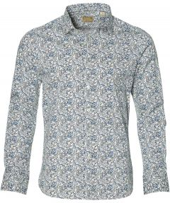 Dstrezzed overhemd - slim fit - blauw