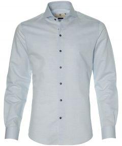 Gentiluomo overhemd - slim fit- blauw