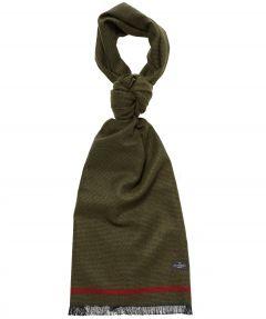 Jac Hensen shawl - wol - groen