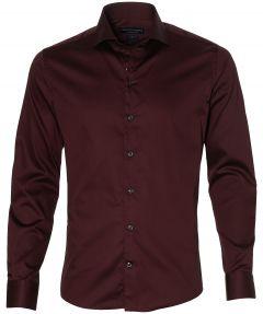Gentiluomo overhemd - slim fit - bordeaux