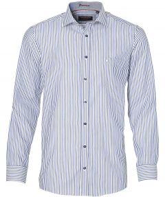 sale - Casa Moda overhemd - extra lang - blau
