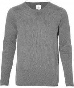 sale - Dstrezzed pullover - slim fit - grijs