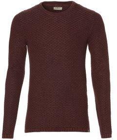 Dstrezzed pullover - slim fit - bordo