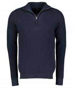 Dstrezzed pulover - slim fit - blauw