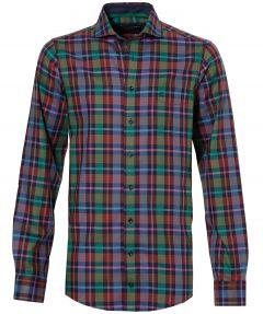 sale - Casa Moda overhemd - extra lang - groen