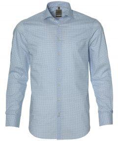 Benvenuto overhemd - modern fit - blauw