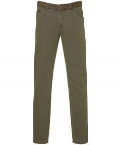 Meyer pantalon Chicago- modern fit - bruin