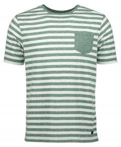 Jac Hensen t-shirt - extra lang - groen