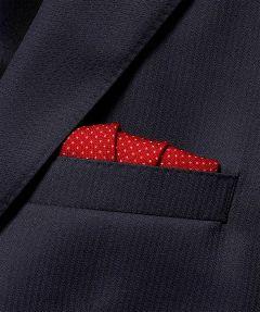 Jac Hensen pochet - rood