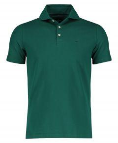 Jac Hensen polo - extra lang - groen