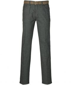 Pionier chino Gerard - regular fit - grijs