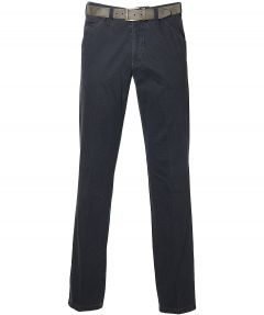 sale - Meyer pantalon Chicago - modern fit - blauw