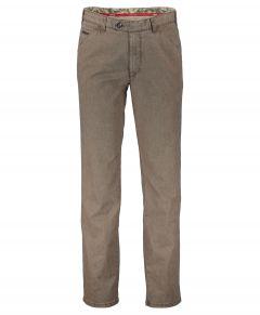 Meyer pantalon Chicago - modern fit - bruin