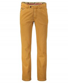 Meyer pantalon Chicago - modern fit - oker