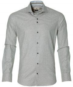 Gentiluomo overhemd - slim fit - beige
