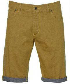 Pionier short Kevin - regular fit - geel