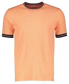 Hensen t-shirt - extra lang - zalm