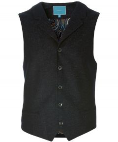British indigo gilet - slim fit - blauw