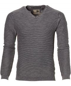No Excess pullover - slim fit - grijs