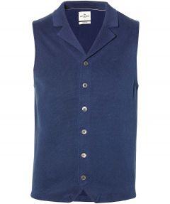 Jac Hensen Premium gilet - slim fit  - blauw