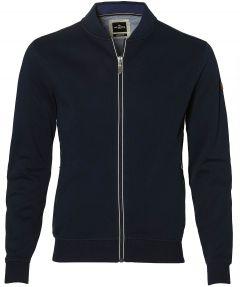 Jac Hensen vest - extra lang - blauw