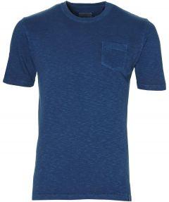 Hensen t-shirt - extra lang - blauw