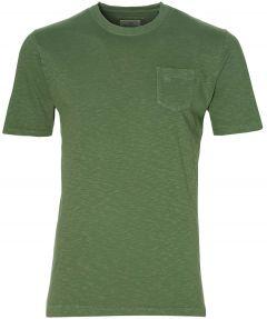 Hensen t-shirt - slim fit - groen