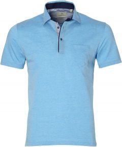 Hensen polo - slim fit - turquoise