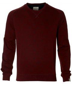Hensen pullover - extra lang - bordo