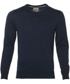 sale - Hensen pullover - extra lang - blauw