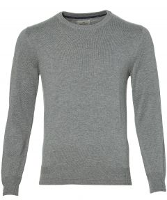 sale - Hensen pullover - slim fit - grijs