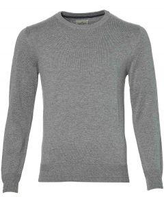 sale - Hensen pullover - extra lang - grijs