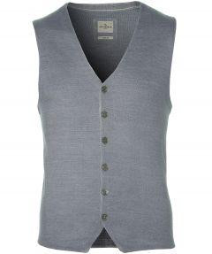 Jac Hensen Premium gilet - slim fit - grijs