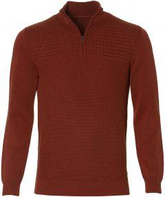 Jac Hensen pullover - modern fit - brique