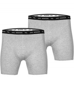 sale - Jac Hensen boxers 2-pack - grijs