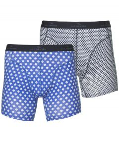 sale - Jac Hensen boxers 2-pack - blauw