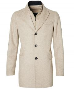 Jac Hensen premium jas - slim fit - beige