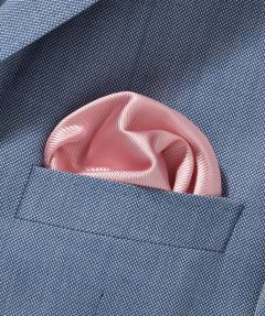 Zijden Pochet - roze